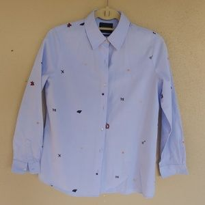 Girls Scotch and Soda button down shirt